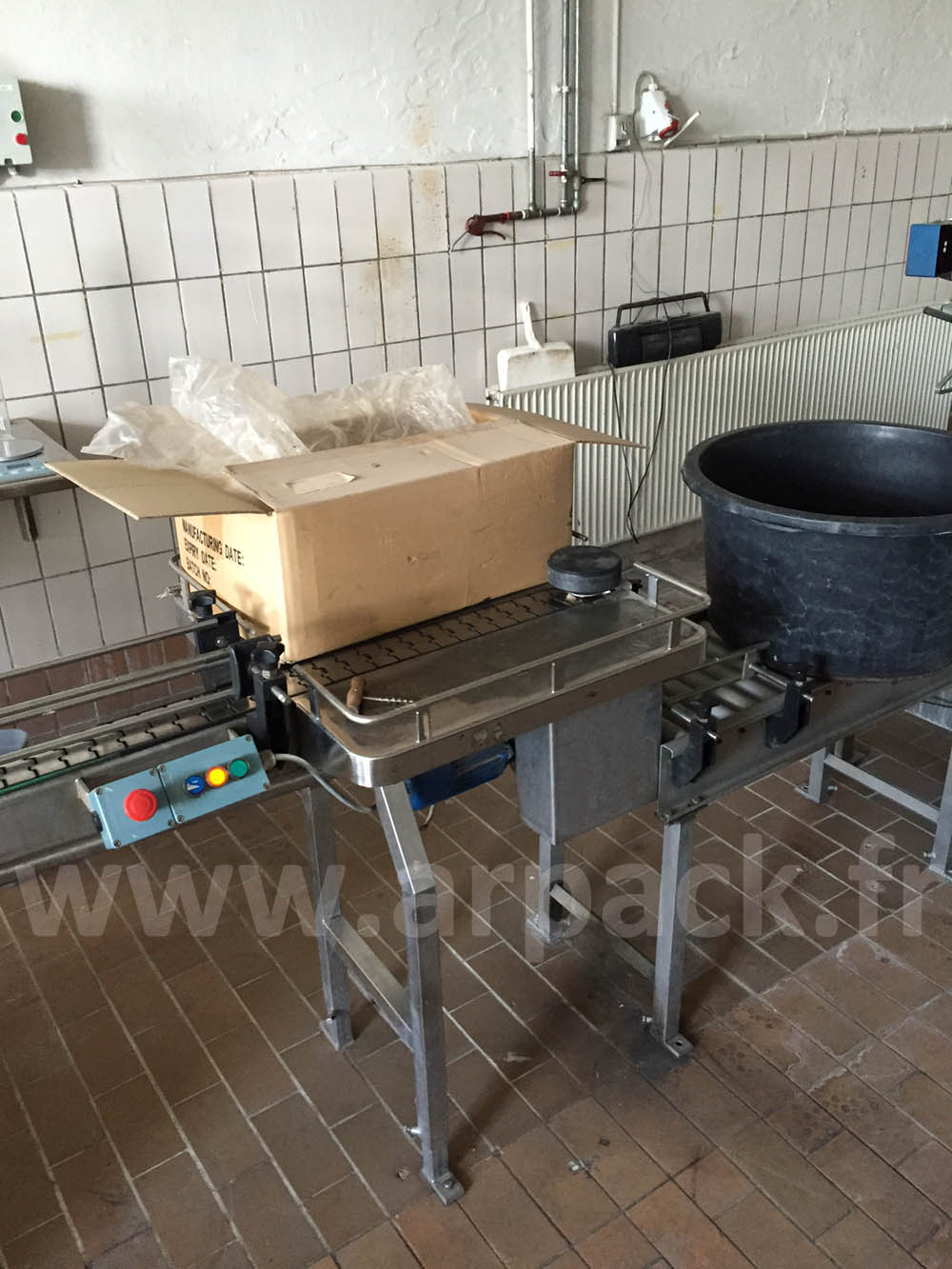 Ligne de conditionnement en Bag-in-Box