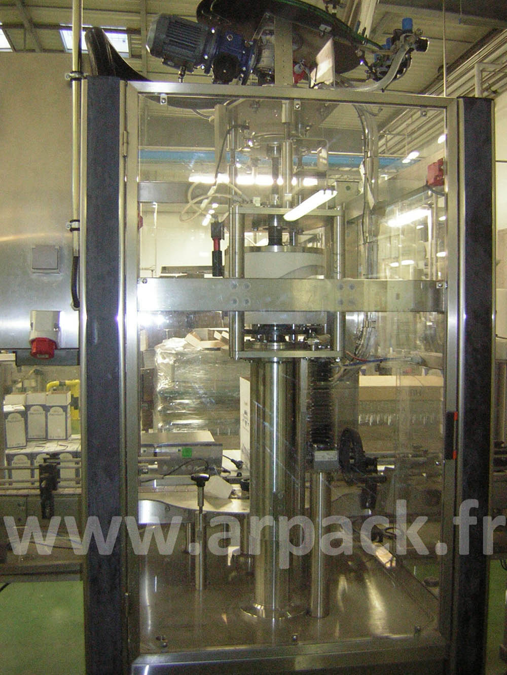 Zalkin TM200 capper for PET bottles