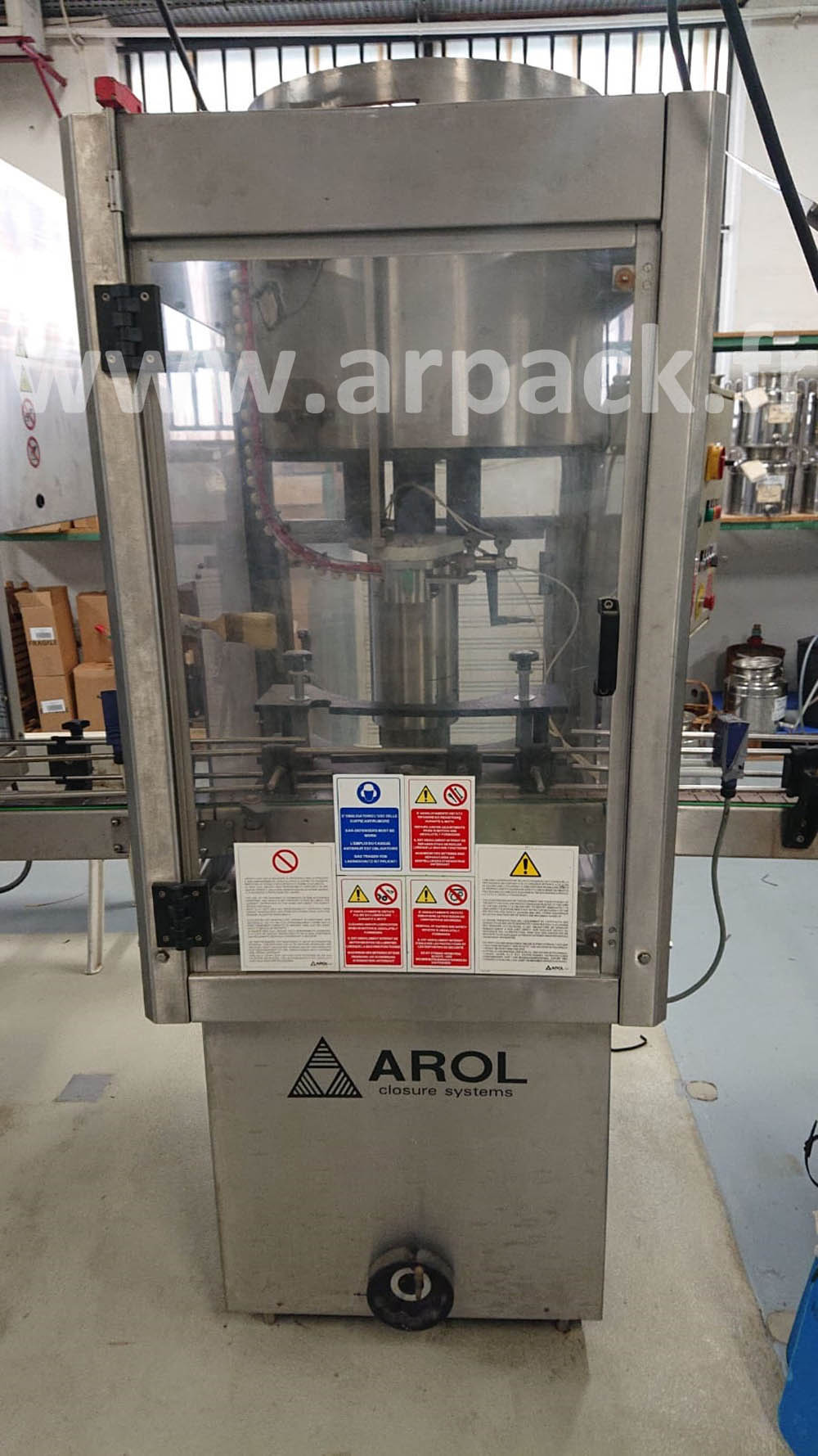 T-cap capping machine Arol