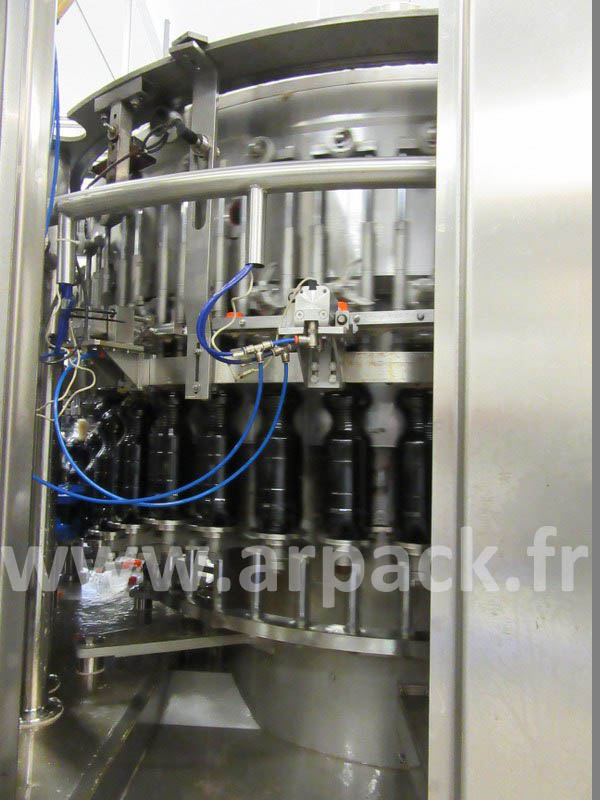 Rinsing Filling Capping monobloc for carbonated drinks
