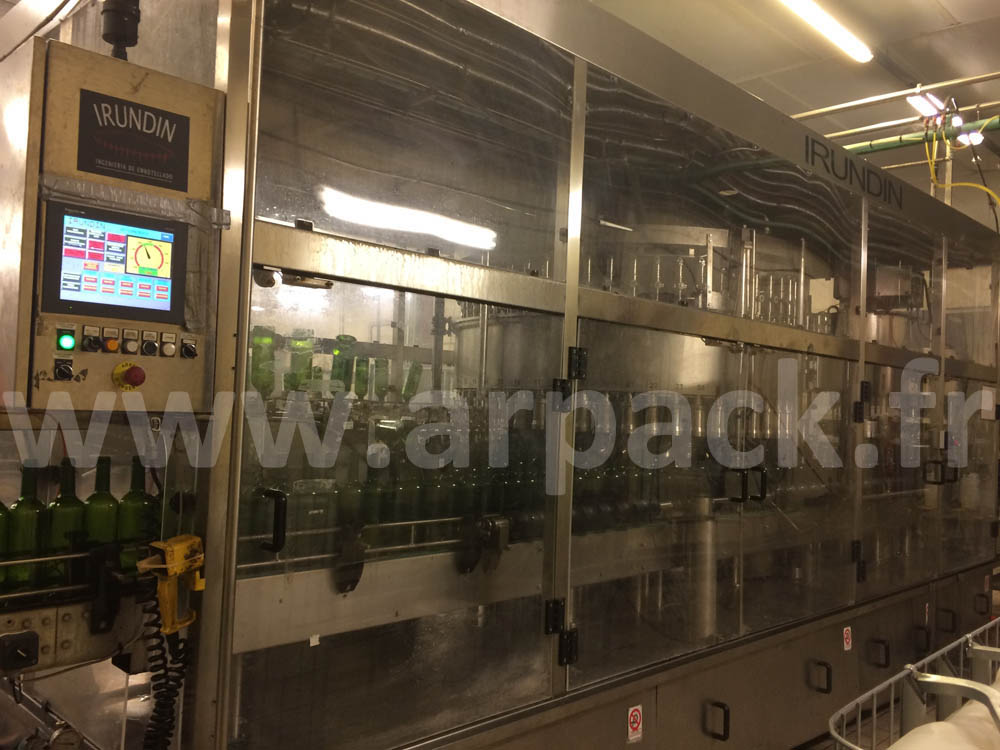 IRUNDIN bottling monoblock 12,000 bottles / hour