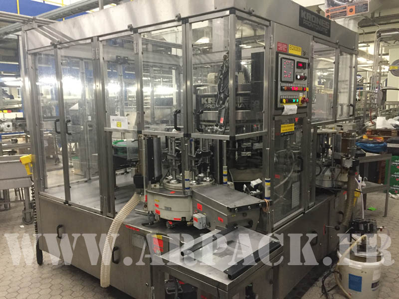Used  Krones bottling line
