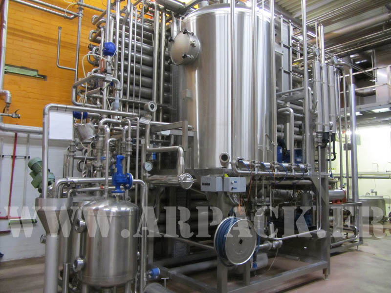 Used Aseptic filling line SIG  Combibloc